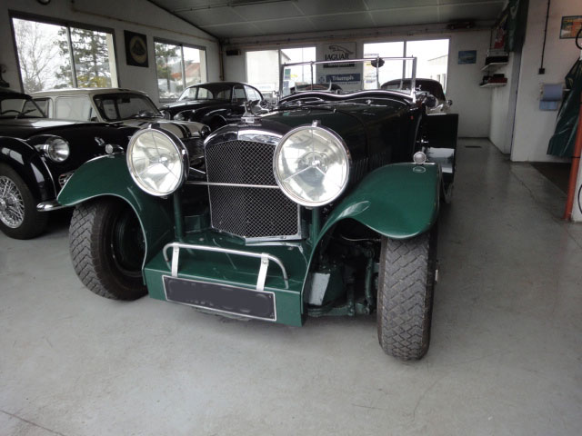 Restauration voitures anglaises - Bentley mark VI