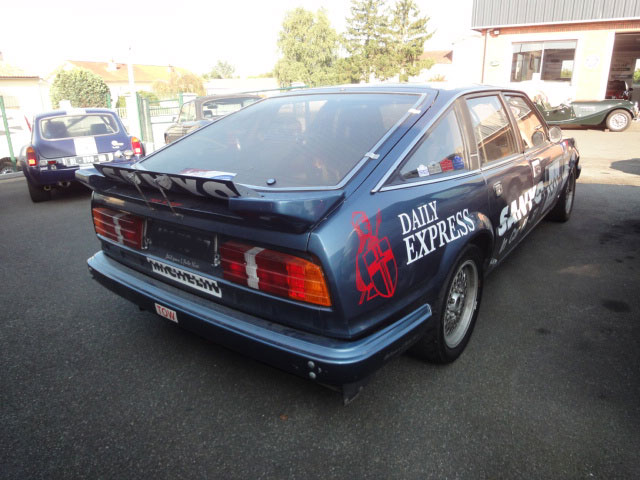 Restauration voitures anglaises - Rover SD1