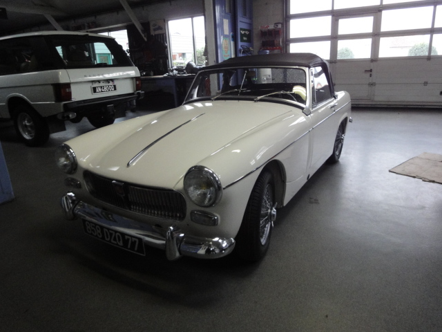 Restauration voitures anglaises - MG Midget