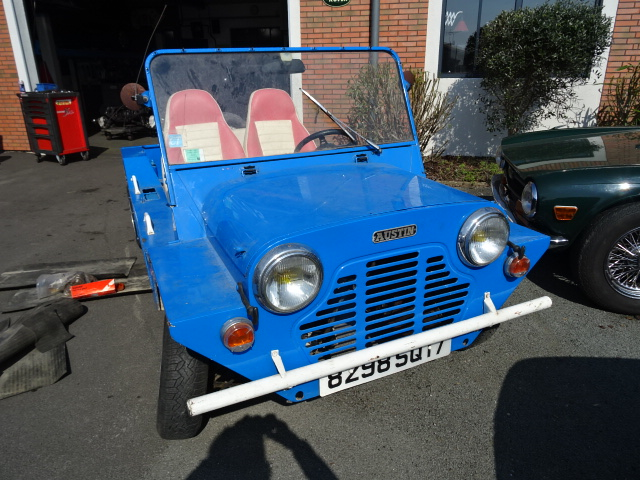 restauration vioitures anglaises-mini moke